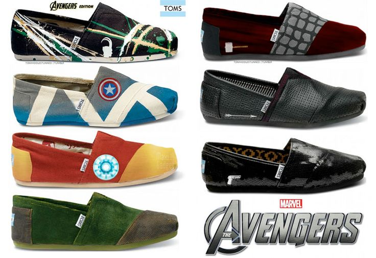 Avengers - TOMS Shoes