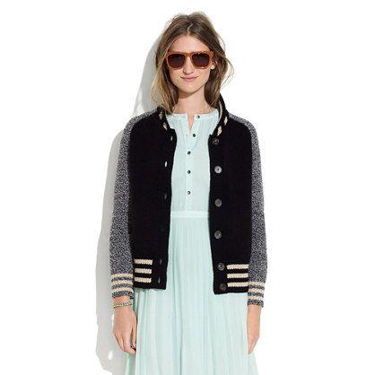 Letterman Sweater-Jacket