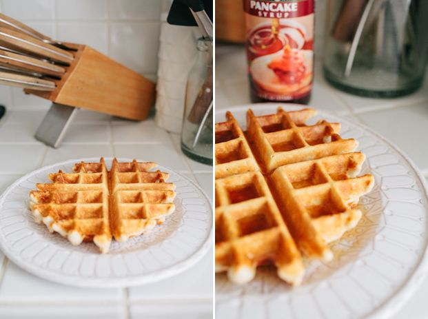 I eat this recipe every morning. I've made sure that the macros of this recipe are close enough to my old breakfast meal of 5 egg whites, 1 egg, and an apple. Currently, eggs and I are having a break.Protein Waffles1 scoop of protein…