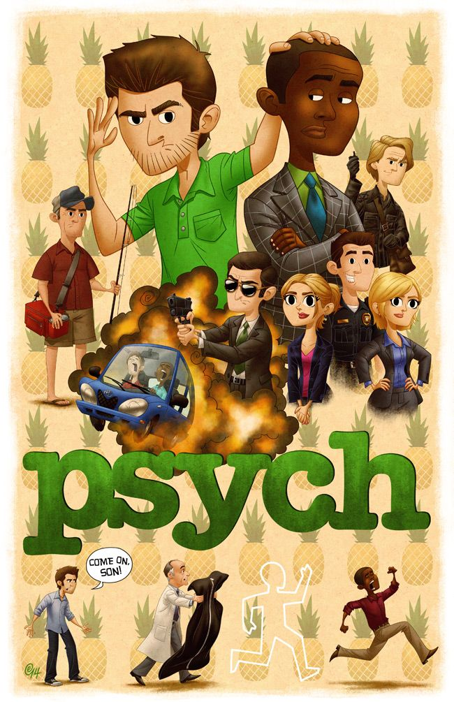 Come on, son! by Erich0823 on deviantART. Aww, I'm going to miss Psych.