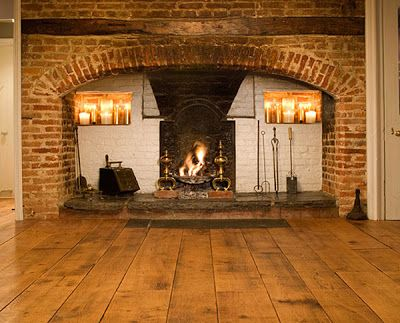 http://www.quatrefoildesign.com/      A few weeks ago, I heard a term that was new to me: inglenook fireplace. Not only was the term new ...