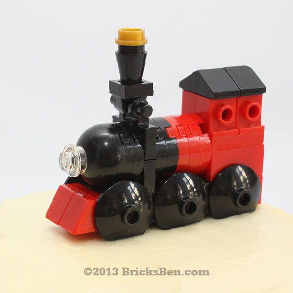 BricksBen - LEGO Choo Choo Mini Train Christmas Express - The Muffinry by BricksBen LEGO® Creations, via Flickr