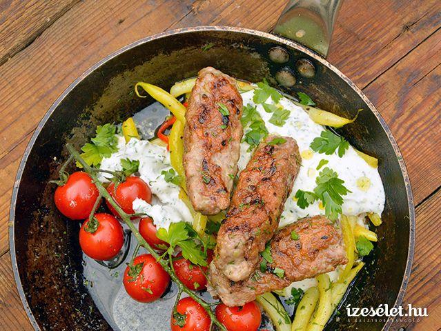 Csevapcsicsa és joghurtos zöldbabsaláta - Receptek | Ízes Élet - Gasztronómia a mindennapokra