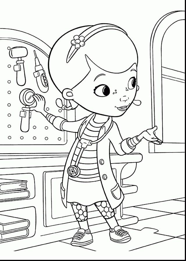 Doc Coloring Pages
