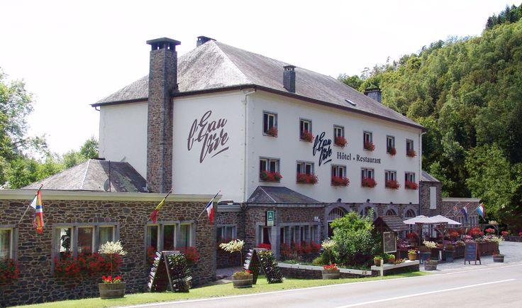 Hotel L'Eau Vive in Vresse-sur-Semois, Namur Ardennes, South Belgium.