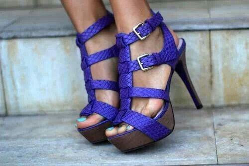 purple straps!