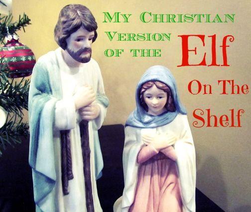 Mary and Joseph on the shelf??
