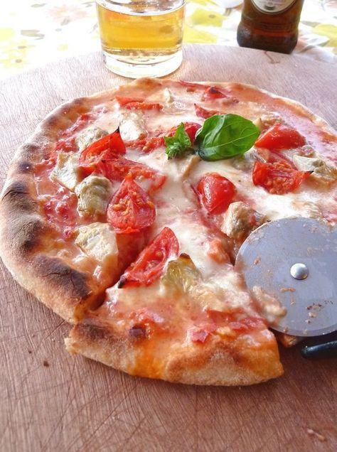 pizza con pasta madre o lievito naturale