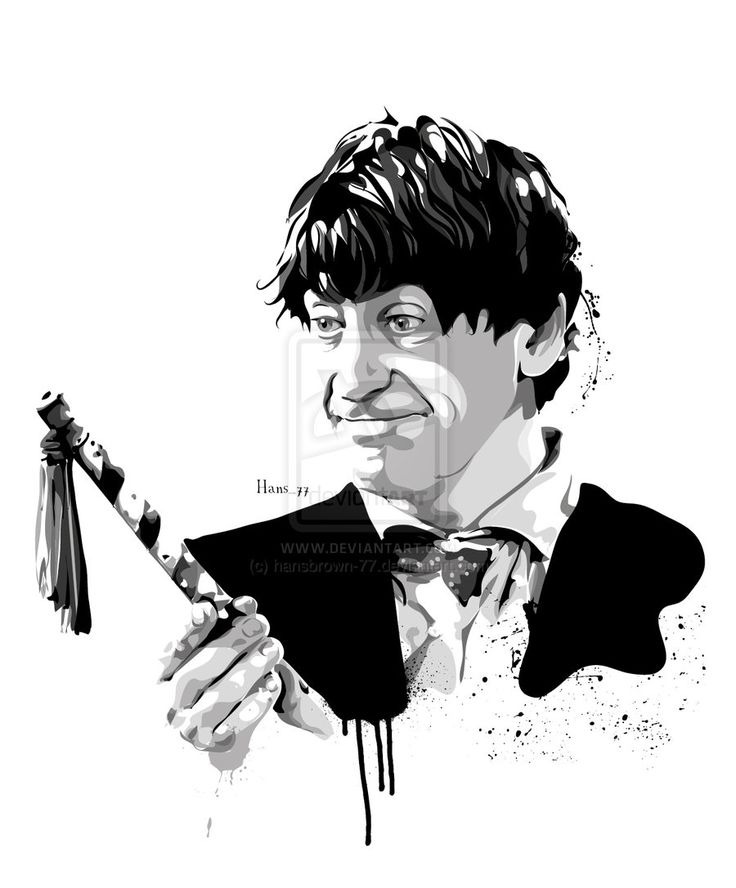 The Second Doctor Who by ~hansbrown-77 on deviantART  (The second, that goofy clown, is my third favorite)