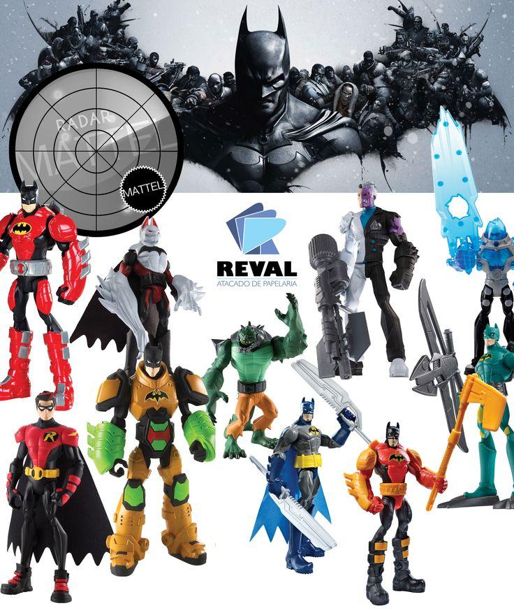 Batman nunca foge de uma missão, seja qual for o objetivo. Estes bonecos possuem acessórios super radicais e que dão às crianças a habilidade de criar novas histórias e aventuras para Batman. São diversos sortimentos super radicais. Peça pelo código Reval 43538 (ref. Mattel: X2294) pelo 0800-701-1811 ou pelos representantes de vendas de sua região e ótimas vendas! #Reval #Mattel #RadarMattel #Batman #ActionFigure #Figura #Boneco #Toy #Brinquedo #Kids
