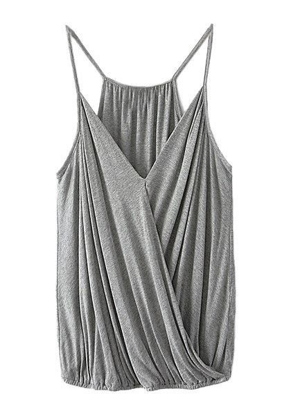 Love this cute, grey tank top