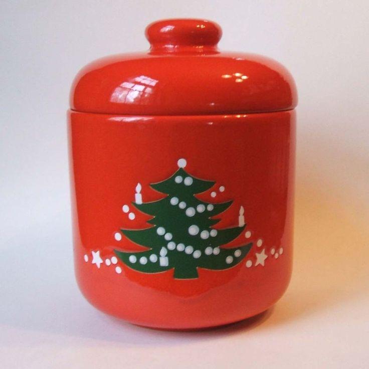 Waechtersbach christmas cookie jar