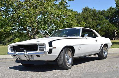 1969 Chevrolet Camaro RS SS Nut & Bolt Restoration Amazing 396 Big Block AC PS