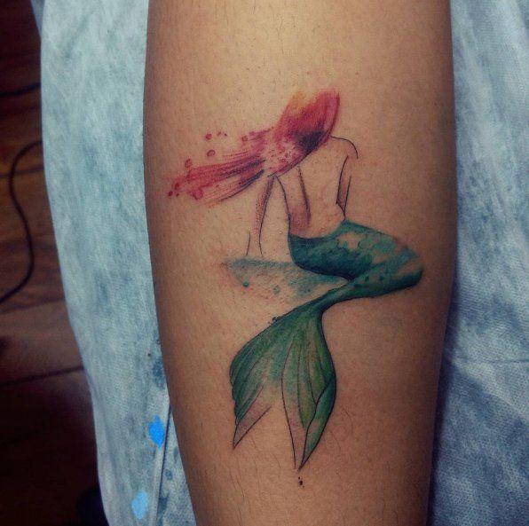 Tatuajes en las piernas para chicas sexys #tattoos #tatuajes
