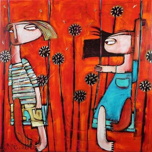 Manyung Gallery Group Janine  Daddo Who Is Impressing Who