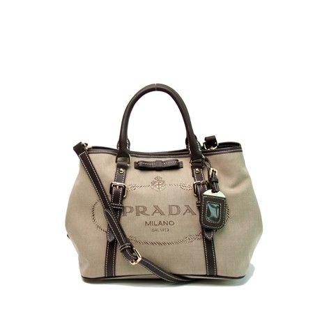 Prada SS 2014-Prada Bow Canvas tote BN1841 black,Prada outlet sale