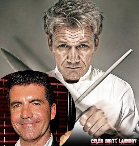 Simon Cowell Bites into Gordon Ramsay's Empire