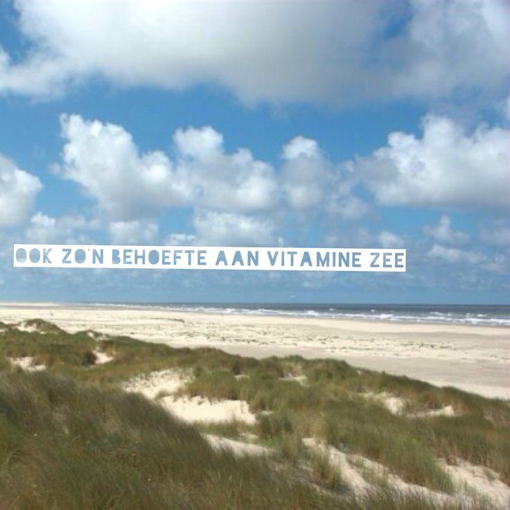 Ook zo'n behoefte aan vitamine Zee