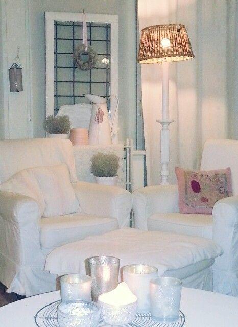 Brocante/vintage living room