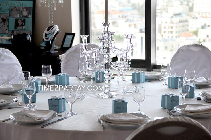 A Tiffany's Themed Bridal Shower | CatchMyParty.com