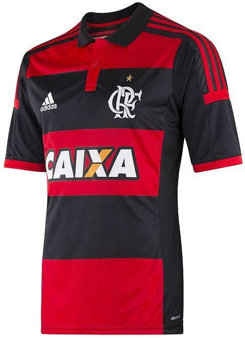 Flamengo tem nova camisa para o Brasileirão - http://www.colecaodecamisas.com/flamengo-nova-camisa-brasileirao-2014/ #colecaodecamisas #Adidas, #Campeonatobrasileiro2014
