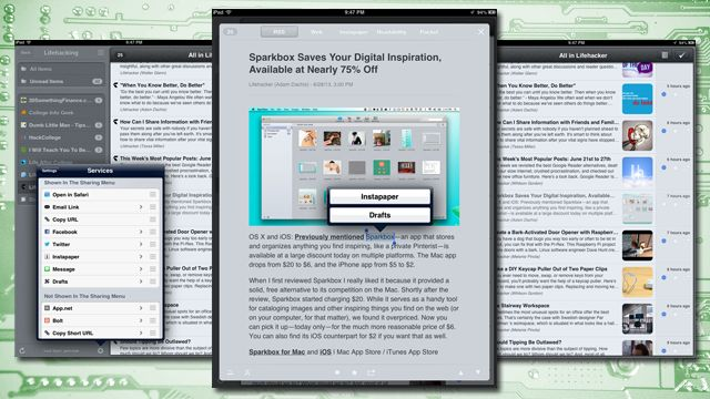 Mr. Reader is a Power User's RSS App, Now with Feedly Support and More (iPad, $3.99)