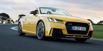 The prices of the new Audi TT RS sports car are called