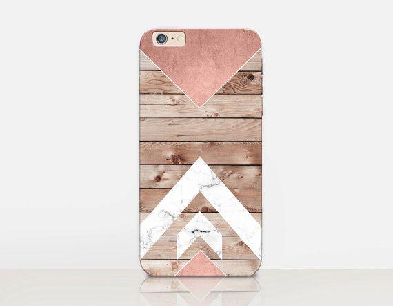 Wood Marble Print Phone Case iPhone 6 Case iPhone 5 par CRCases