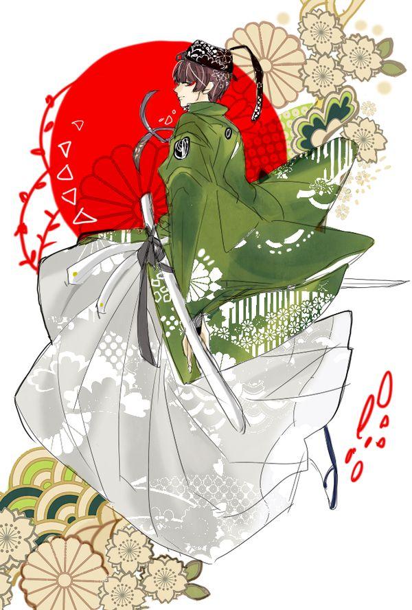 【ワンドロ】第24回目刀剣乱舞深夜のお絵かき60分一本勝負【石切丸】 (8ページ目) - Togetterまとめ