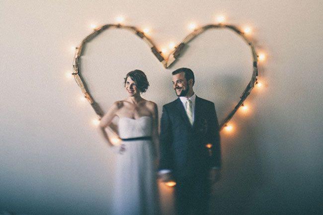 Real Wedding: A Washington Warehouse Wedding via love and lavender, photo credit: One Love Photo