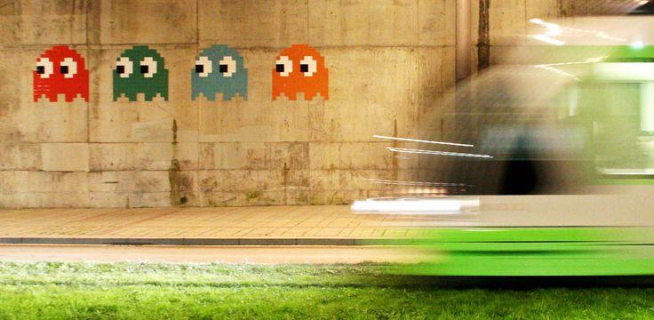 Pacman Guggenheim - Invader (artist) - Wikipedia, the free encyclopedia