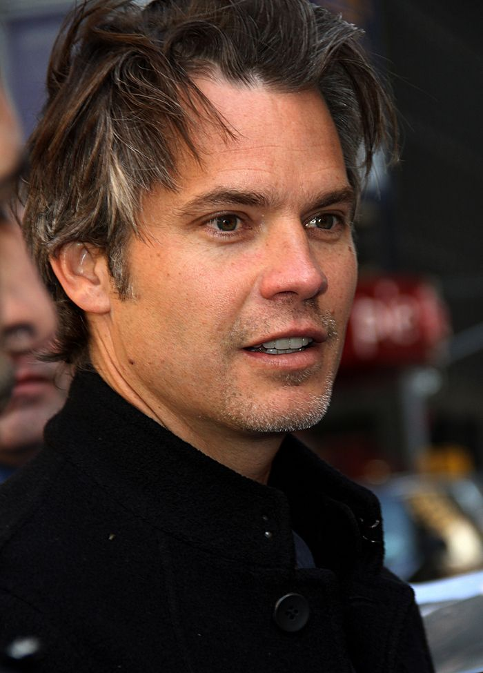 Timothy Olyphant - that man is just beautiful. Funny, too