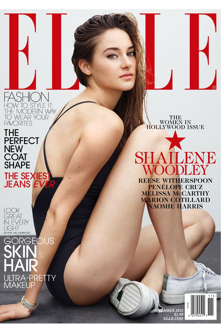 Women in Hollywood 2013 - November Cover 2013 Female Celebrity Quotes - ELLE