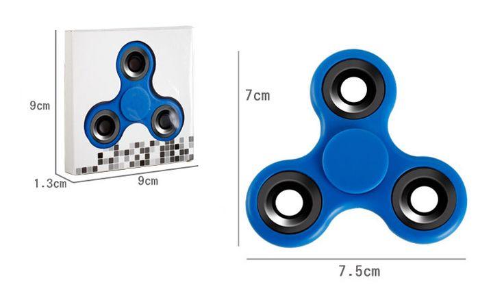 New Creative Fidget Spinner Desk Anti Stress Finger Spin Spinning Top Sensory Toy Cube Gift for Children Kid
