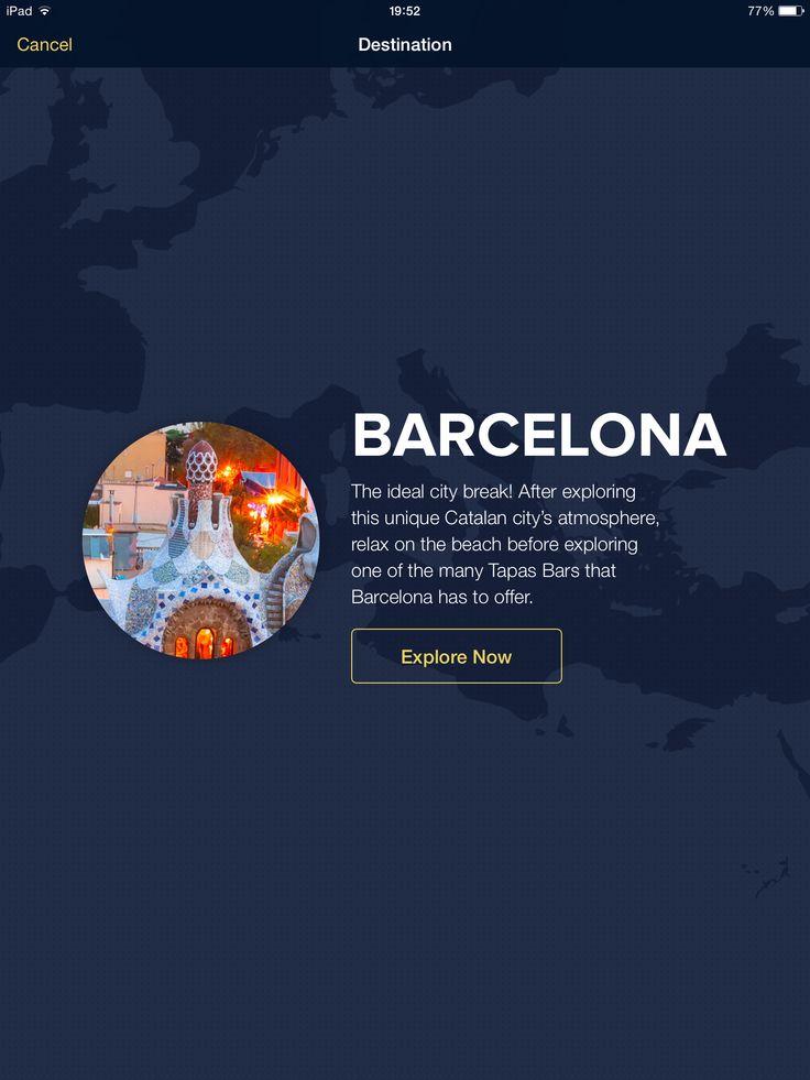 Expedia, feature, destination, iPad