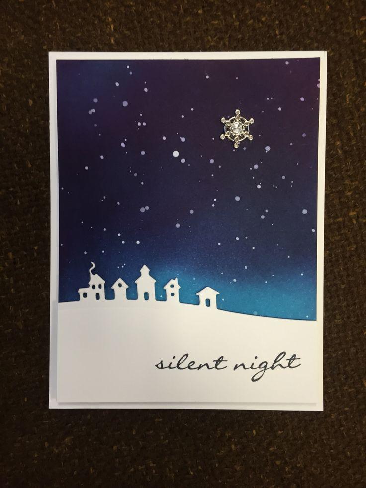 Jingle All the Way and edge kits. Stampin' Up! 2015 Holiday catalog. Sponged…