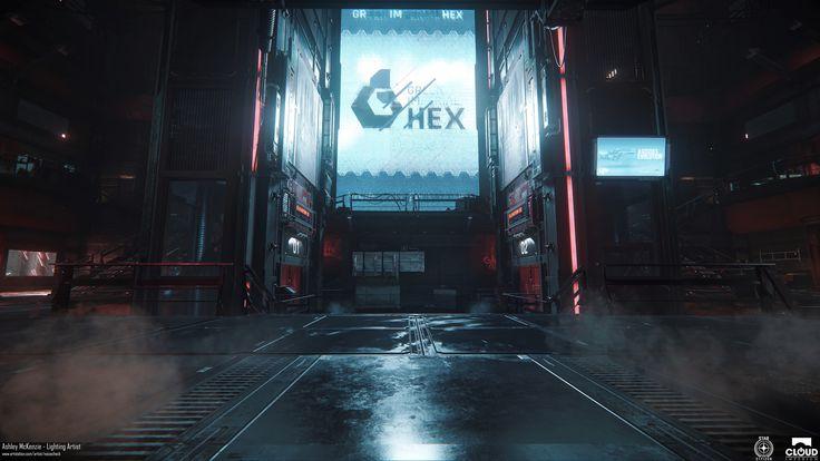 ArtStation - Star Citizen - Grim Hex Main Hub Lighting, Ashley McKenzie