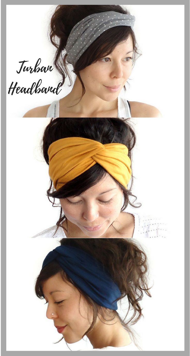 Turban Headband // Fashion Turban // Turband // Stretch Hairband // Hair Wrap. ad