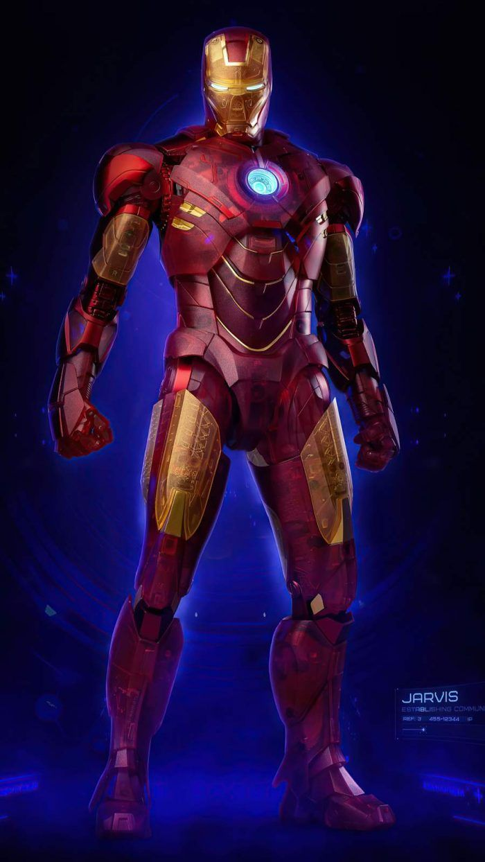 Iphone Wallpapers Wallpapers For Iphone Xs Iphone Xr And Iphone X Iphone Wallpapers Iron Man Holographic Wallpapers Iron Man Avengers Spiderman iron man hologram iphone 11