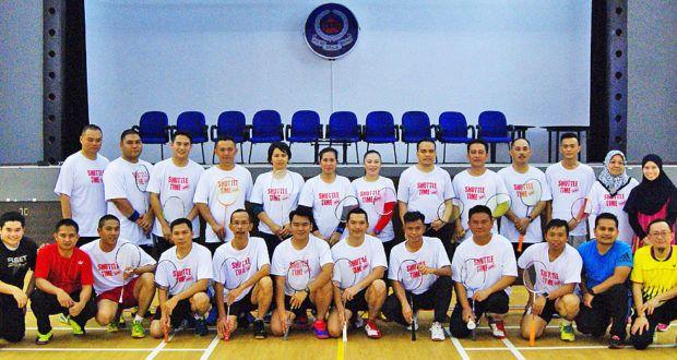 Tingkat cara pengendalian badminton
