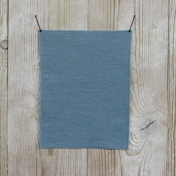 Premium Milled Merino Ash Blue Buy online at The Fabric Store online