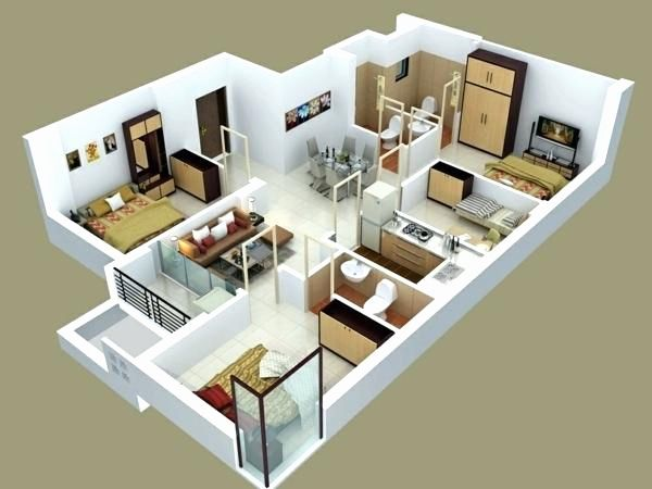 Spectacular 3d Home Floor Plans Amazing Architecture Magazine House Floor Plans Online Home Design Bedroom House Plans