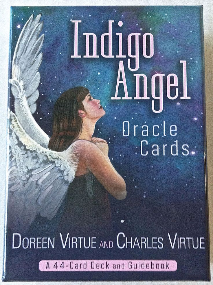 Indigo Angels Oracle Cards by Doreen Virtue 44 Card Deck ...
