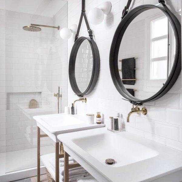 Les 25 meilleures id es de la cat gorie miroir laiton sur for Attache miroir