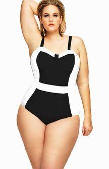 63 best flattering plus size swimsuits images on pinterest