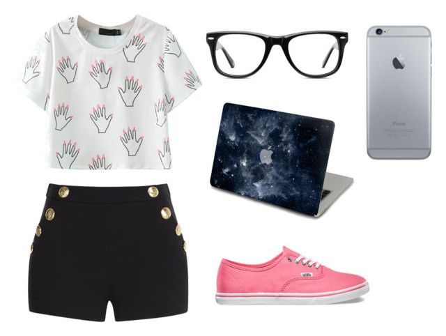 random by dj-eyecandy on Polyvore featuring Boutique Moschino, Vans and Muse