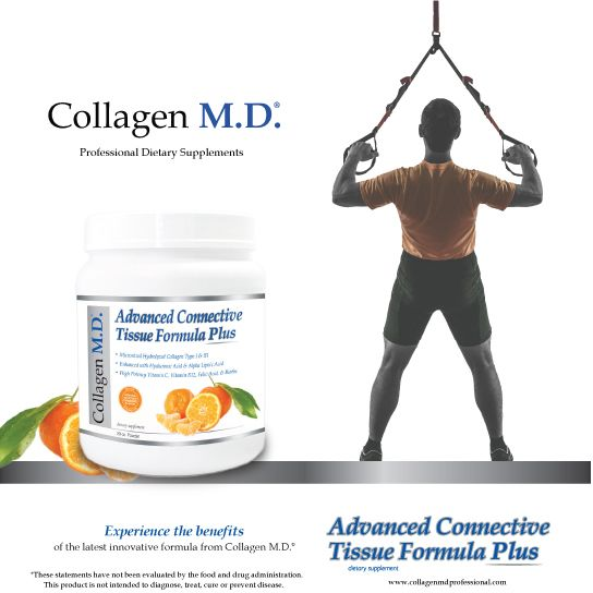 Connective tissue is the most common type of tissue in the body; supporting, connecting and anchoring a wide array of tissues that need to work together.* Advanced Connective Tissue Formula Plus is a nutrient-dense, professional supplement powder by Collagen M.D.® and a source of the amino acids used by the body to support the repair and maintenance of the connective tissue matrix.* Made in the USA under strict cGMP guidelines. #CollagenMD #CollagenMDProfessional #fitness #HealthyAging…