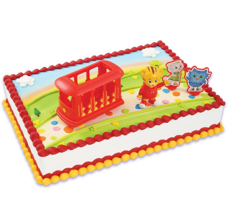Daniel Tiger's Neighborhood Cake Topper from BirthdayExpress.com