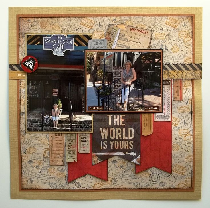 The World is Yours - Scrapbook.com