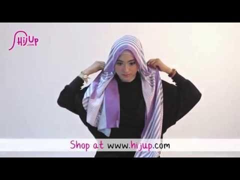 #32 Hijab Tutorial - Natasha Farani (Collaborated with HijUp)